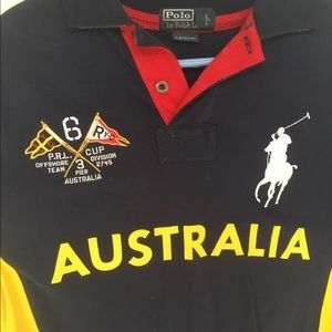 67628bbef Polo by Ralph Lauren Shirts - Polo RL Racing Australia Ocean Challenge